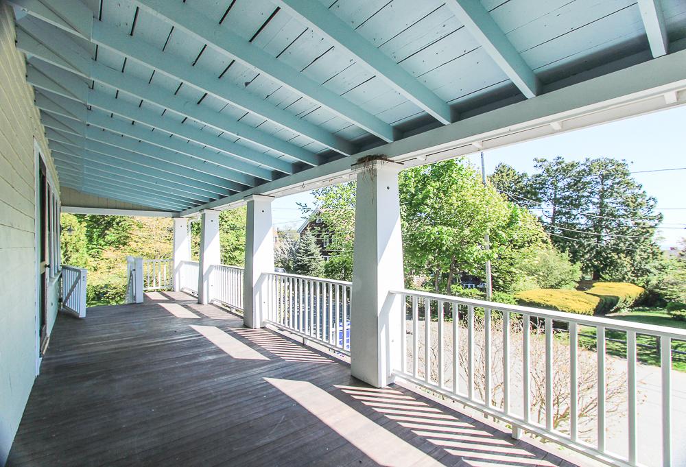 Porch 40 Atlantic Avenue Rockport Massachusetts