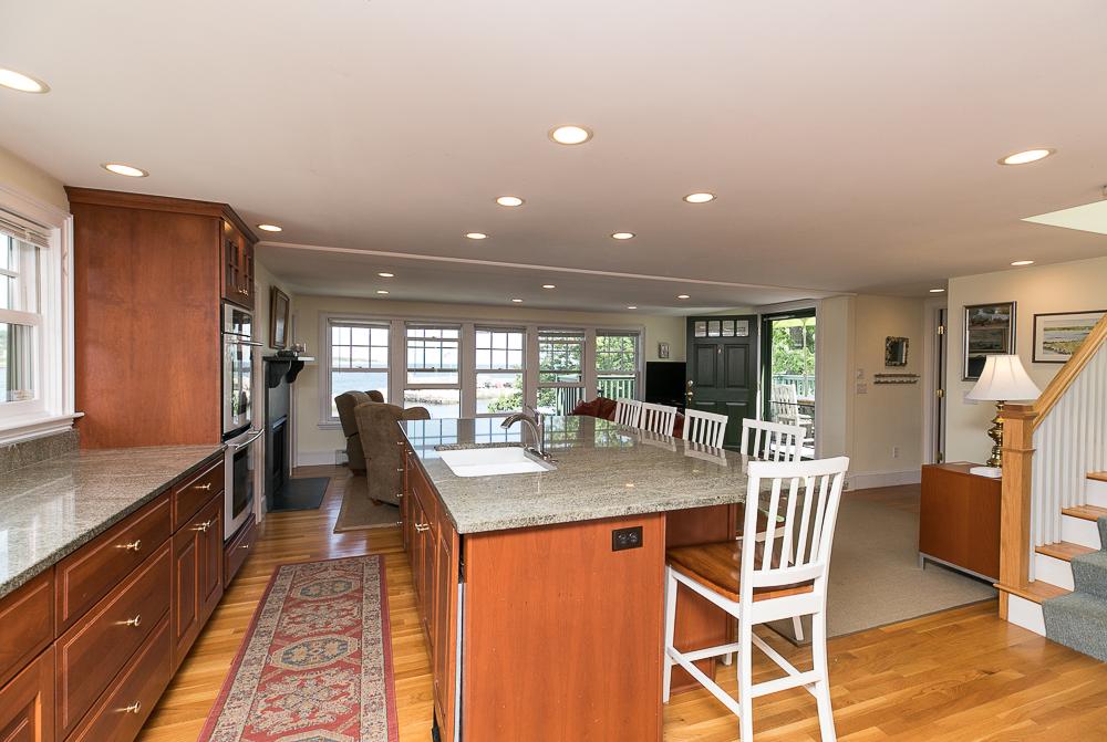 penthouse kitchen 1 Main Street Rockport Massachusetts