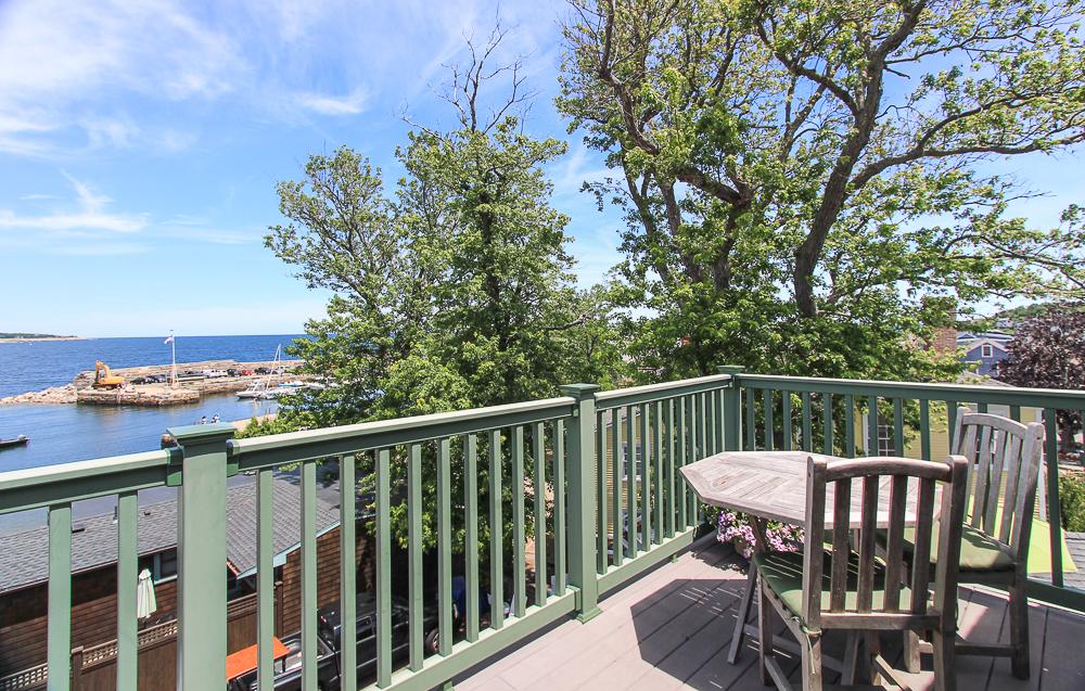 Third floor deck 1 Main Street Rockport Massachusetts