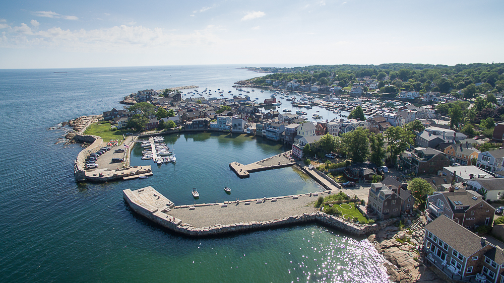 Aerial photo Rocport MA