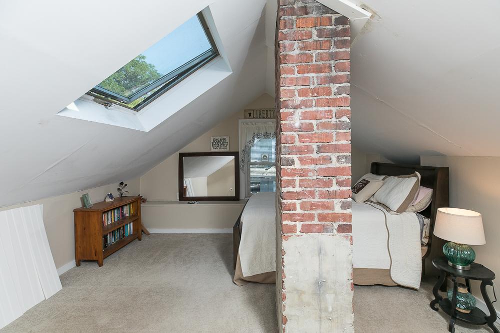 Bedroom with skylight 188 Lynn Street Peabody, Massachusetts