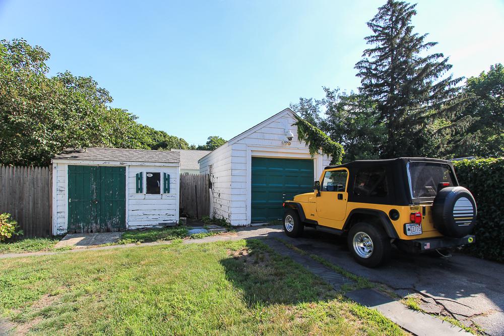 Garage and shed 188 Lynn Street Peabody, Massachusetts