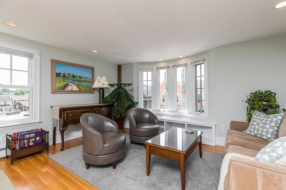 Penthouse Living room 1 Main Street Rockport Massachusetts