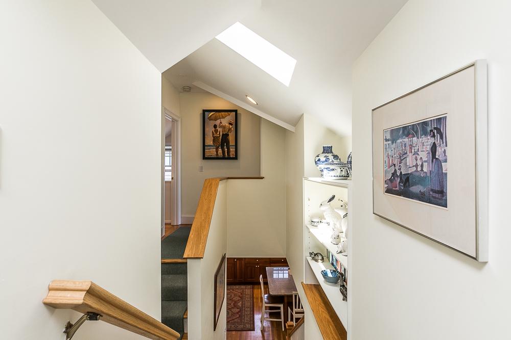 Penthouse stairwell 1 Main Street Rockport Massachusetts