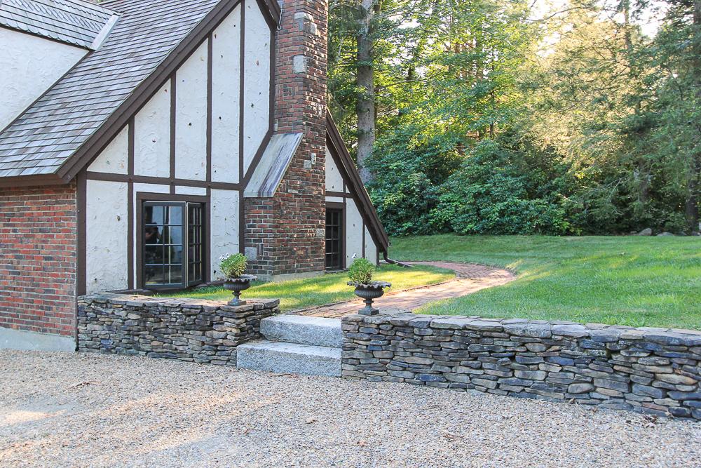 Chimney and Brick Path 34 Cutler Road Hamilton Massachusetts
