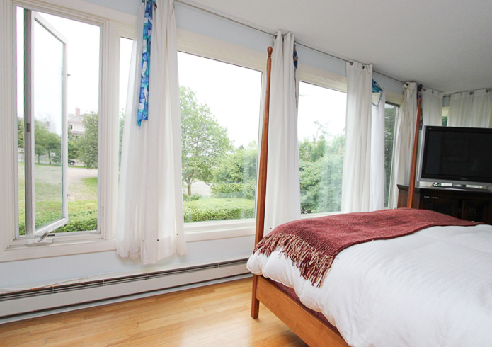 Master Bedroom with Views - Views, hardwood floors, private bath